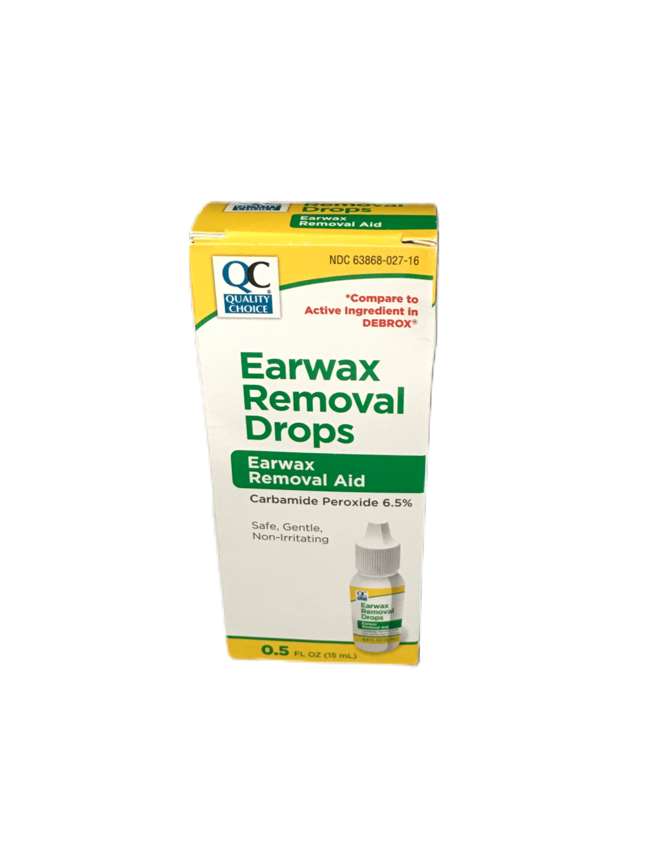 QC Earwax Removal Drops