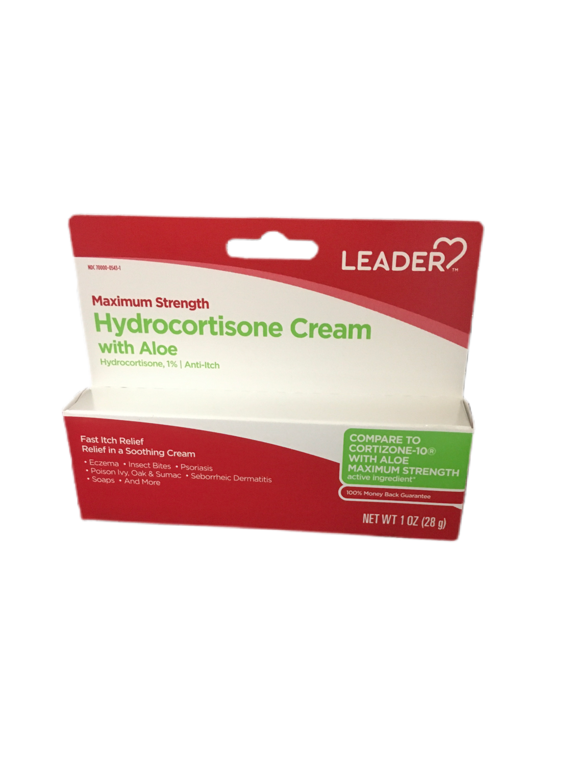 Leader Hydrocortisone Cream with Aloe