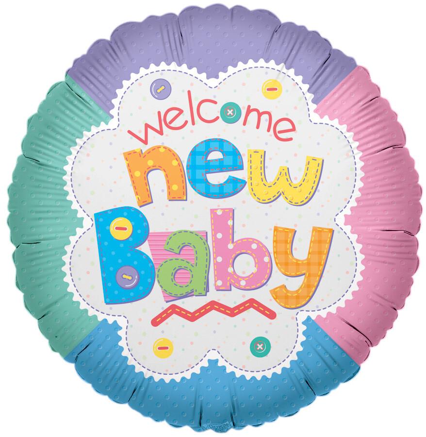 Globo Welcome New Baby