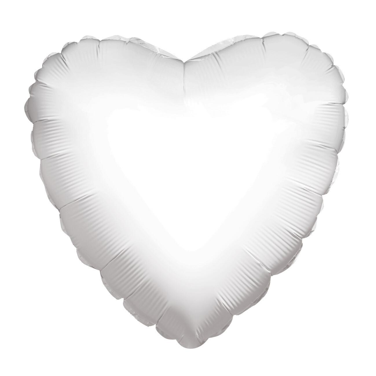 Globo Solid Heart White