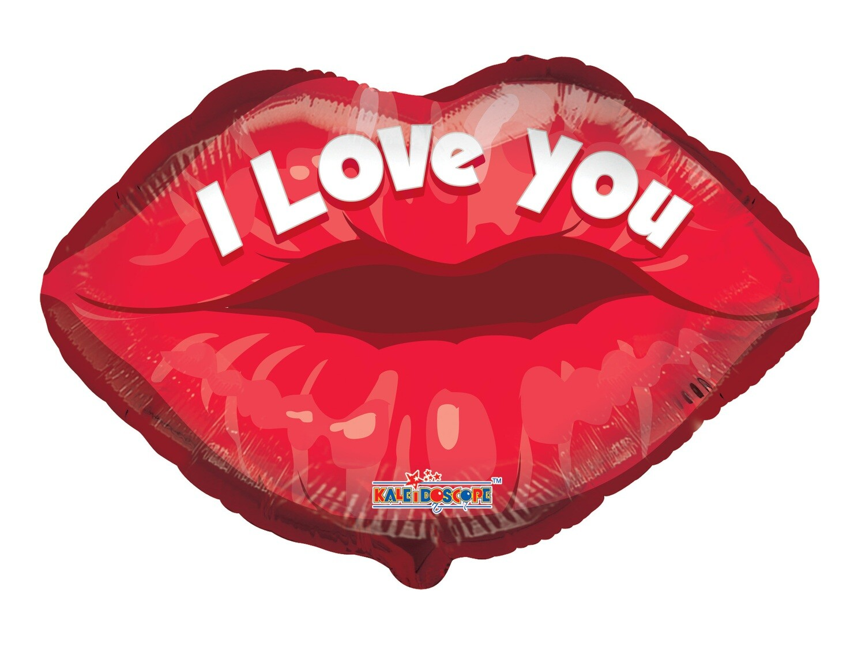 Globo I Love You Lips