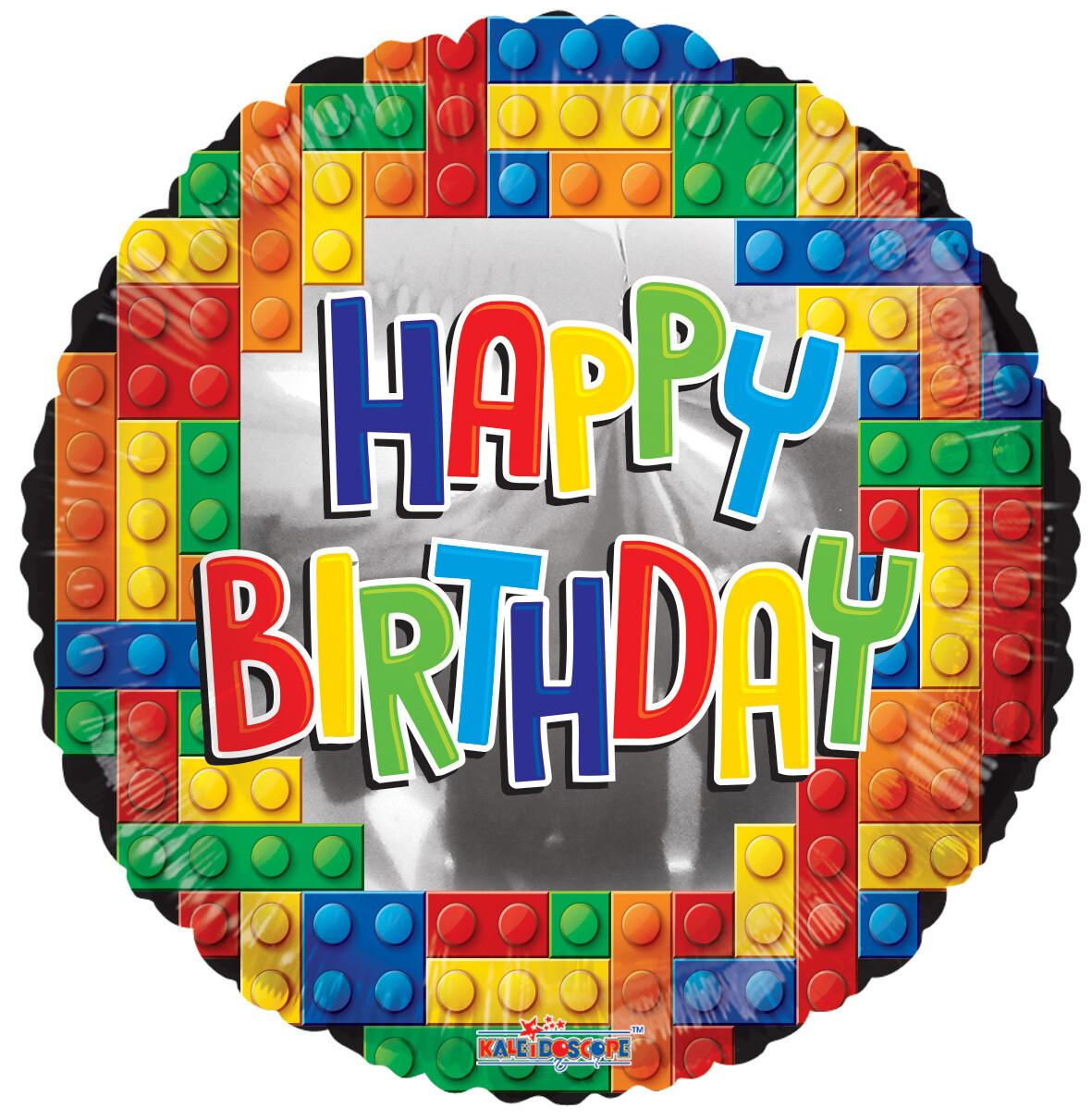 Globo Birthday Building Bricks