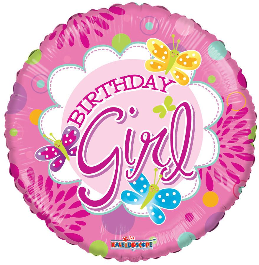 Globo Birthday Juvenile Girl