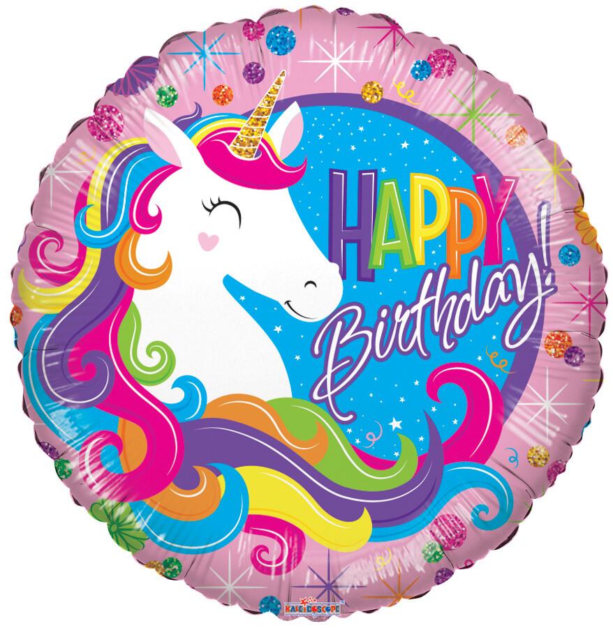 Globo Birthday Classic Unicorn
