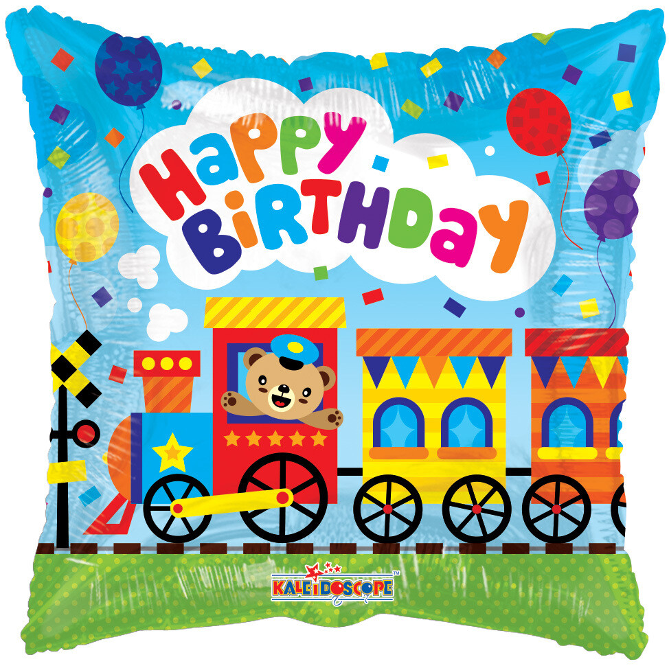Globo Birthday Choo Choo Train