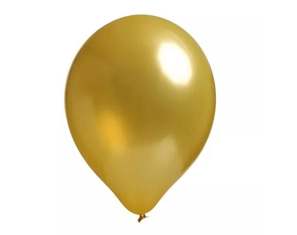 Globo Metálico Gold