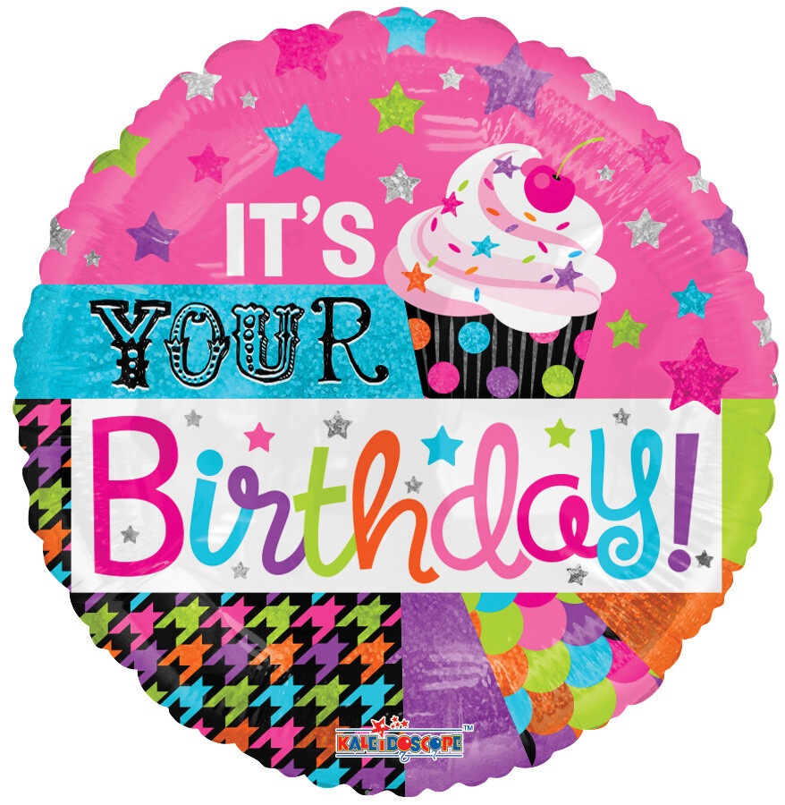 Globo Birthday Cupcake