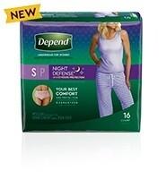 Depend Night Defense Women Small