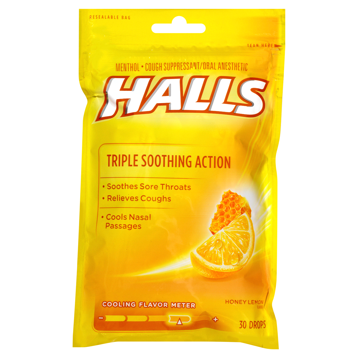 Halls Relief Honey Lemon