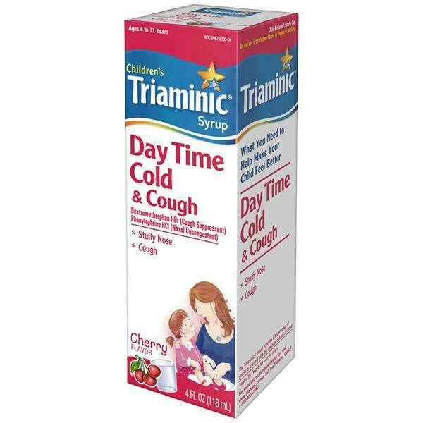 Triaminic Children Day Time Cold & Cough