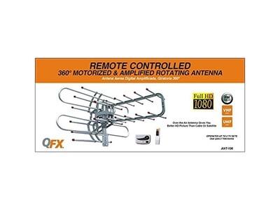 Antena Rotor 360 grados con control remoto.