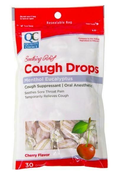 Pastillas para la tos QC Cough Cherry