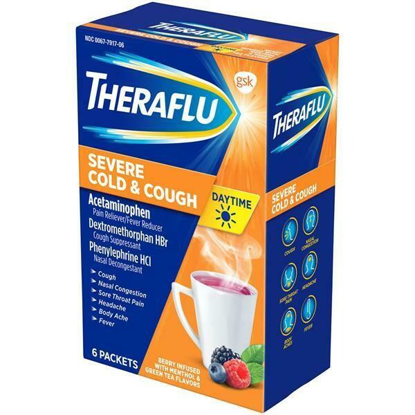 Theraflu Severe Cold & Cough