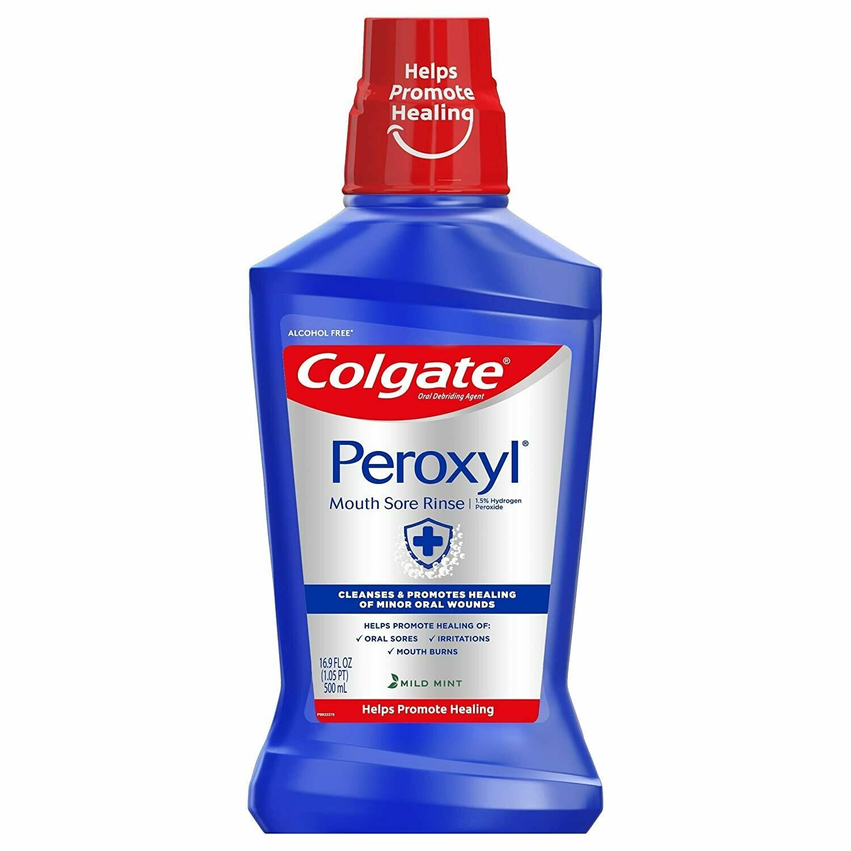 Enjuague Bucal Peroxyl Colgate