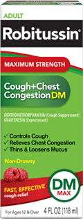 Robitussin Cough+Chest Congestion 4 onz