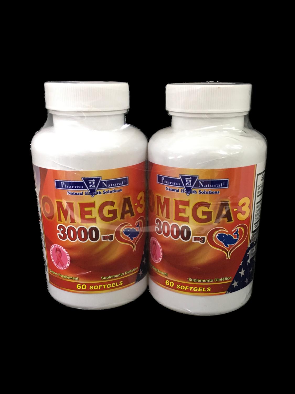 Suplemento Omega 3 3000 mg