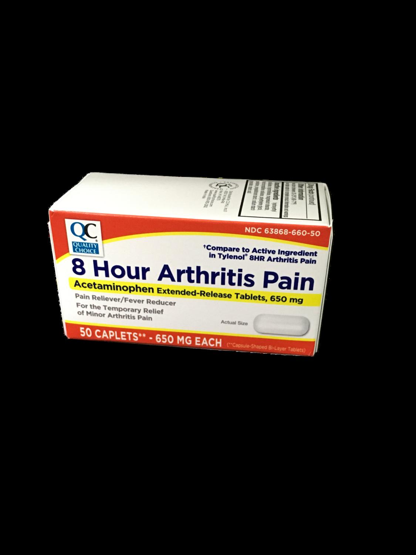 QC 8 Hour Arthritis Pain 50 caplets