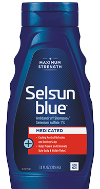 Selsun Blue Maximun Strenght