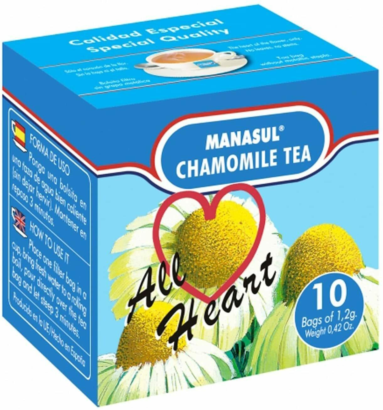 Chamomile Tea- Té de Manzanilla Manasul