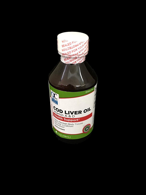 Aceite de Hígado de Bacalao- Cod Liver Oil