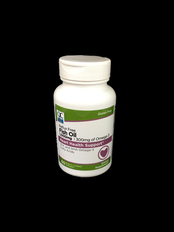Suplemento Fish Oil QC 1000 mg