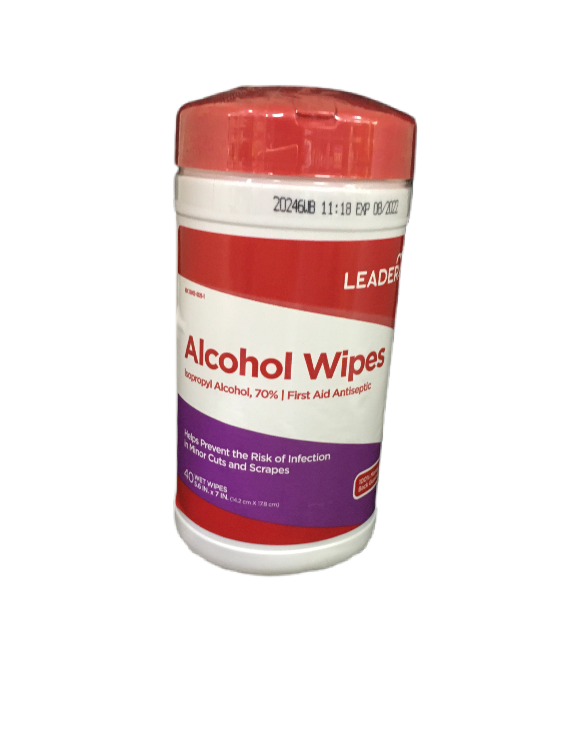 Leader Alcohol Wipes