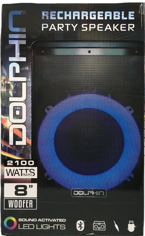 Bocina recargable 2100 watts