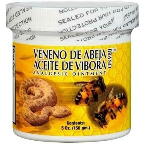 Veneno de Abeja- Aceite de Víbora