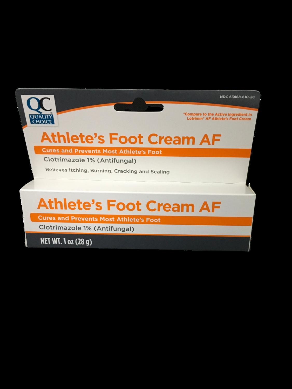 QC Athlete's Foot Cream AF