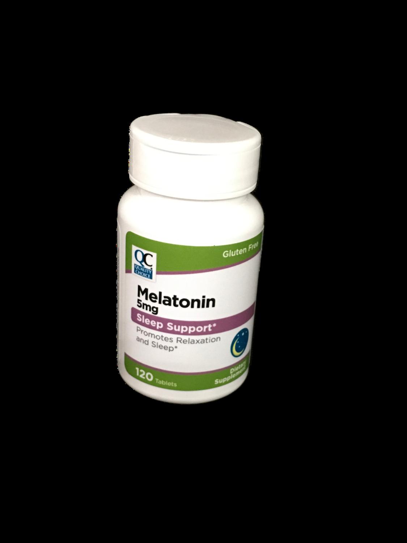 Suplemento Melatonina 5mg QC
