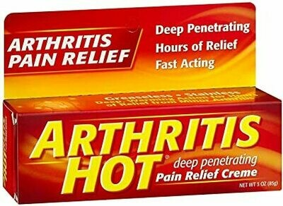 Arthritis Hot Pain Relief Creme