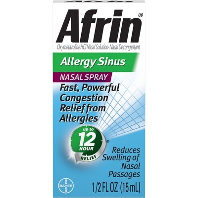 AFRIN Allergy Sinus