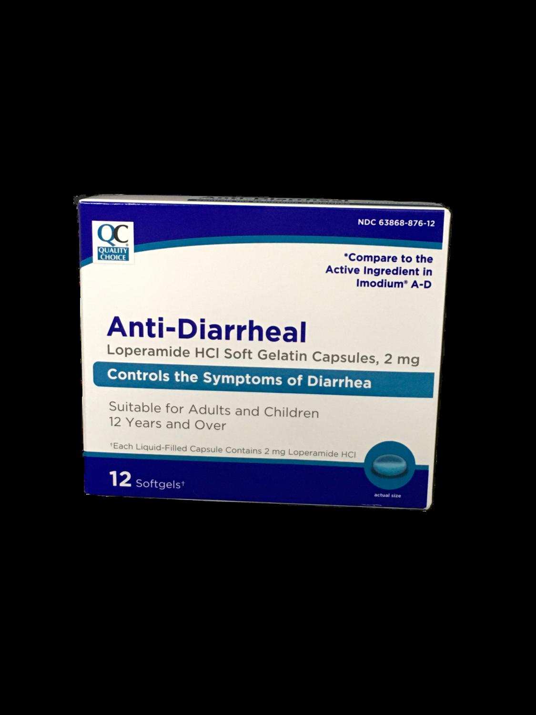 QC Anti-Diarrheal 12 softgels