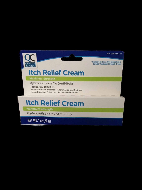 QC Itch Relief Cream