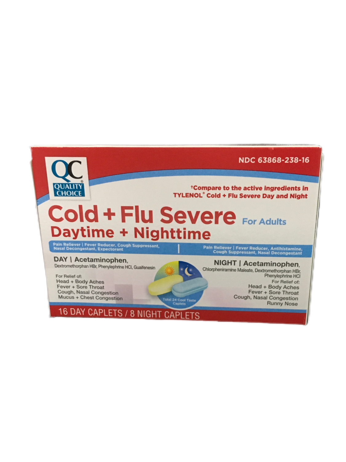 QC Cold & Flu Severe