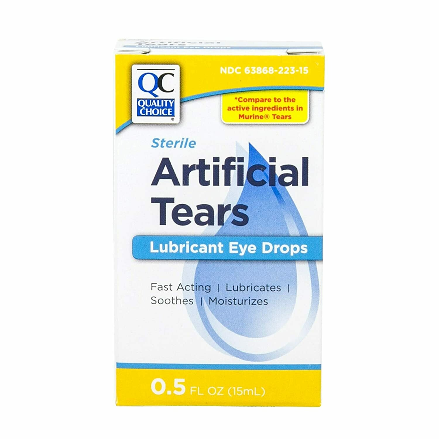 QC Artificial Tears Lubricant