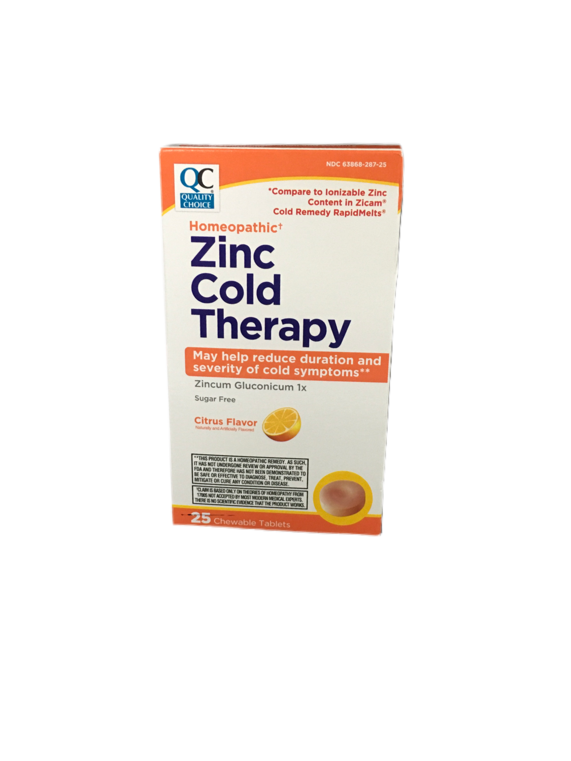 QC Zinc Cold Therapy