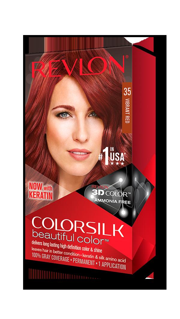 Tinte Revlon Vibrant Red