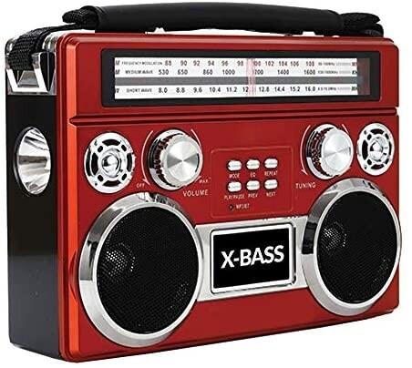 Radio Trisonic con Bluetooth y Flashlight
