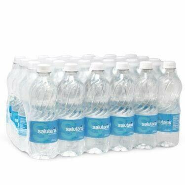 Agua Salutaris 16 oz caja 24
