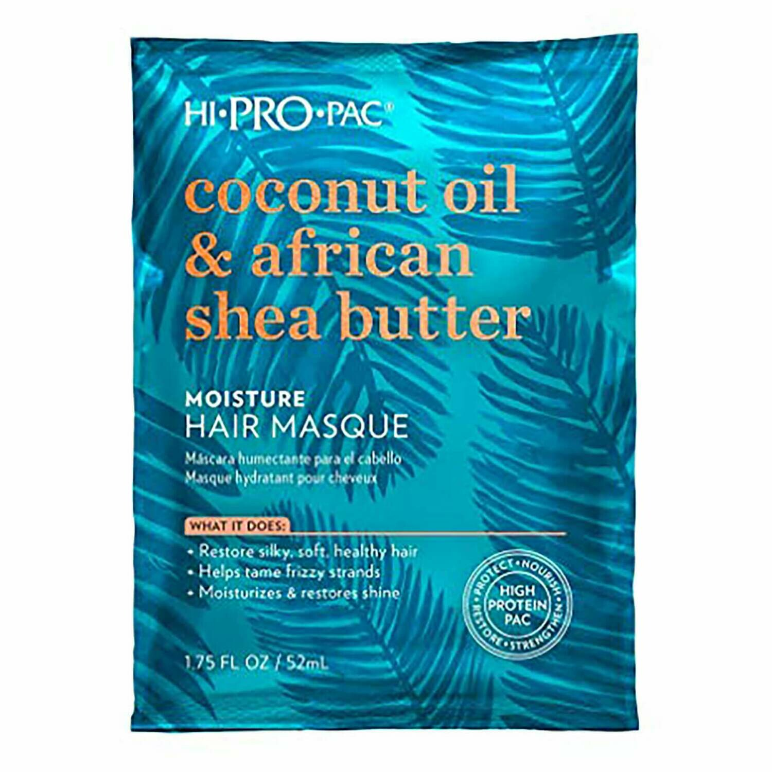 Hi Pro Pac coconut oil & african shea butter