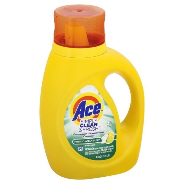 Ace Simply Clean & Fresh Líquido