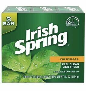 Jabón Irish Spring Original