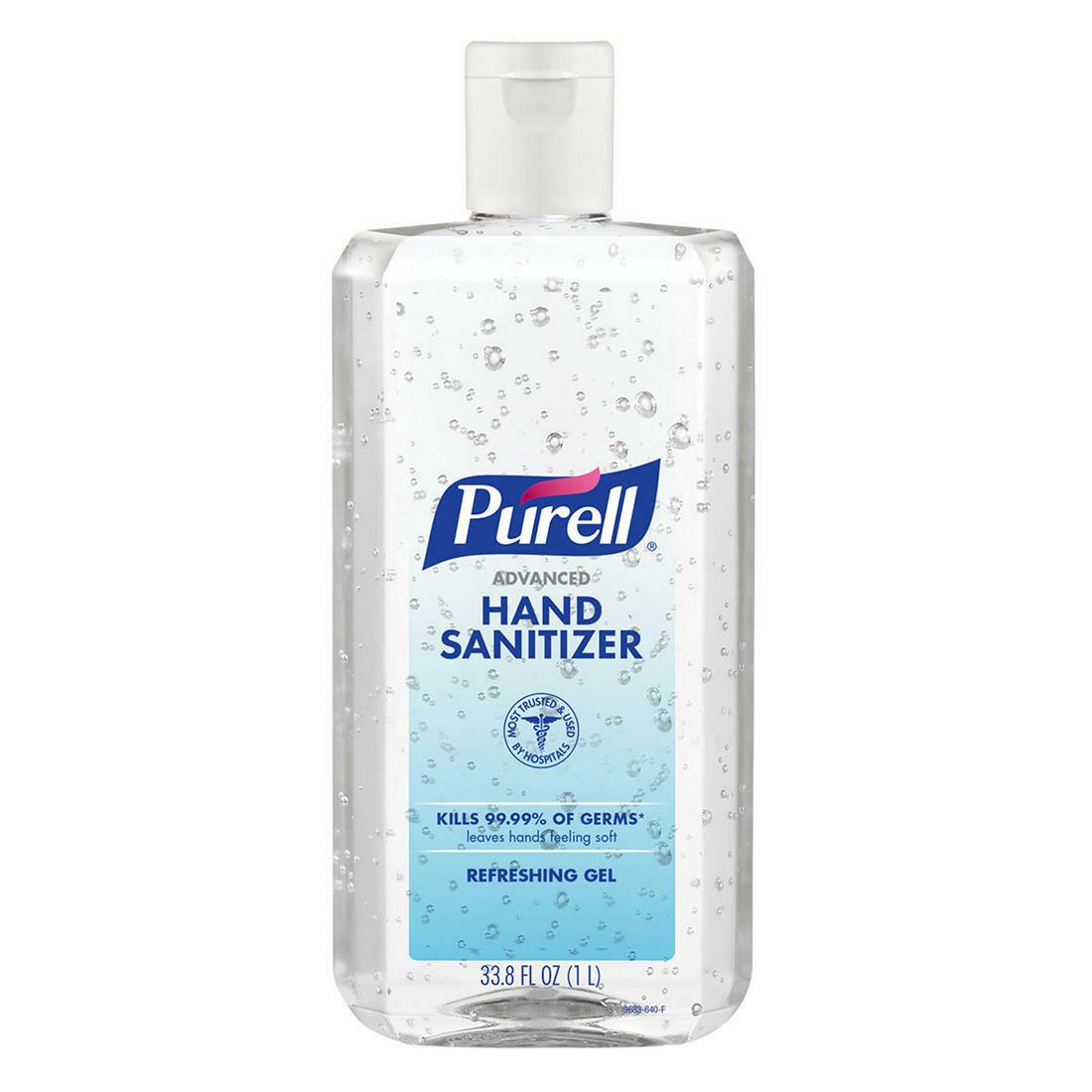 Hand Sanitizer Purell 33.8 onz