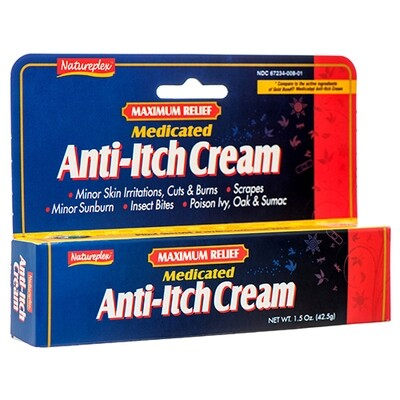 Anti- Itch Cream Natureplex