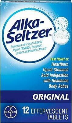 Alka-Seltzer Original 12 tab