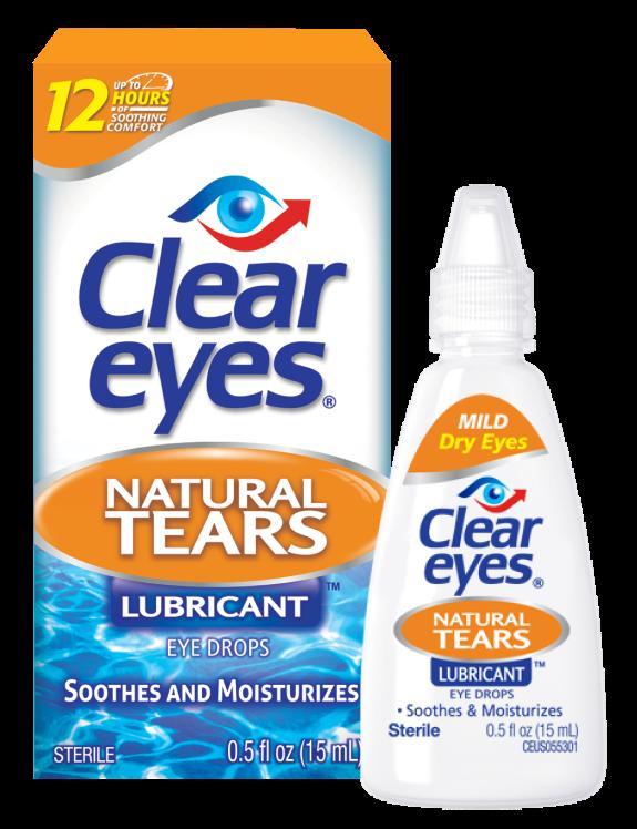 Gotas Clear Eyes Natural Tears