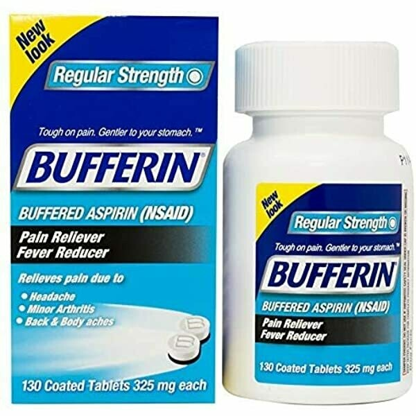 Bufferin Regular Srength