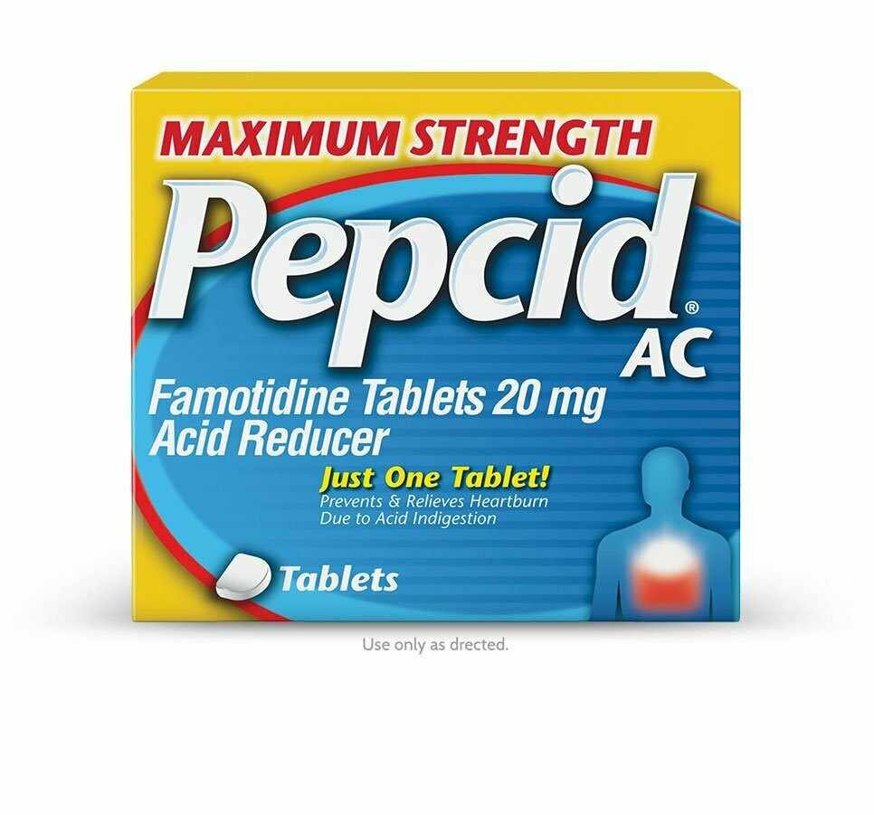 Pepcid AC Maximum Strength 20 mg