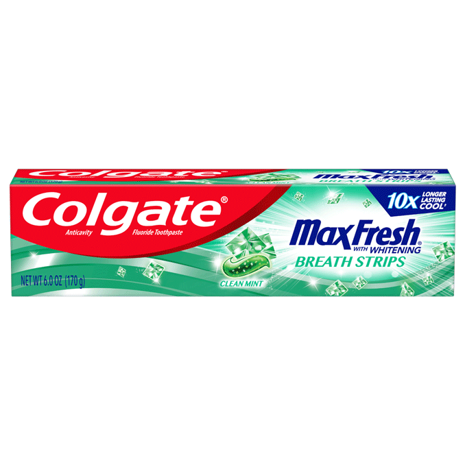 Pasta Dental Colgate Max Fresh Cleam Mint